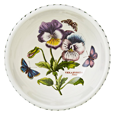 Buy Portmeirion Botanic Garden Fruit Bowl, Pansy, Dia.14cm Online at johnlewis.com