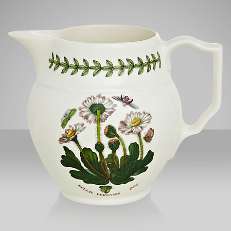 Buy Portmeirion Botanic Garden Staffordshire Jug, Daisy, 0.6L Online at johnlewis.com