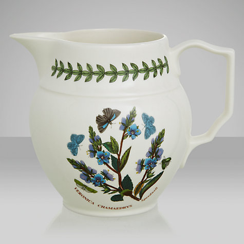 Buy Portmeirion Botanic Garden Staffordshire Jug, Speedwell, 0.6L Online at johnlewis.com