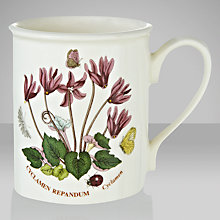 Buy Portmeirion Botanic Garden Mug, Cyclamen Online at johnlewis.com