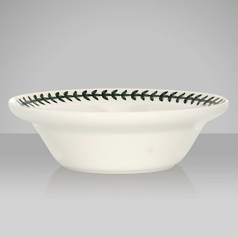Buy Portmeirion Botanic Garden Oatmeal Bowl, Cyclamen, Dia.15cm Online at johnlewis.com