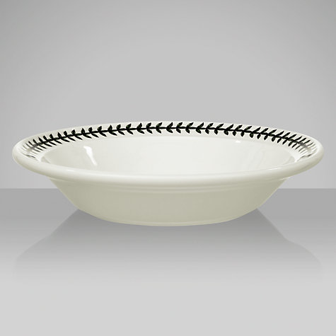 Buy Portmeirion Botanic Garden Pasta Bowl, Dog Rose, Dia.20cm Online at johnlewis.com