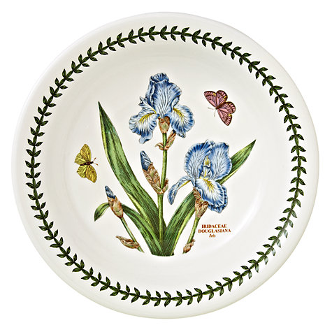 Buy Portmeirion Botanic Garden Pasta Bowl, Iris, Dia.20cm Online at johnlewis.com