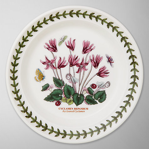 Buy Portmeirion Botanic Garden Plate, Cyclamen, Dia.15cm Online at johnlewis.com