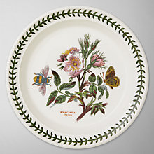 Buy Portmeirion Botanic Garden Plate, Dog Rose, Dia.20cm Online at johnlewis.com