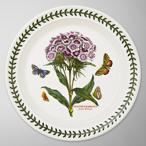 Buy Portmeirion Botanic Garden Plate, Sweet William, Dia.20cm Online at johnlewis.com
