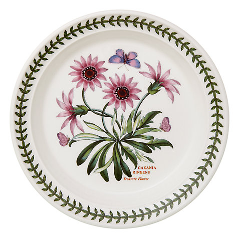 Buy Portmeirion Botanic Garden Plate, Treasure Flower, Dia.20cm Online at johnlewis.com