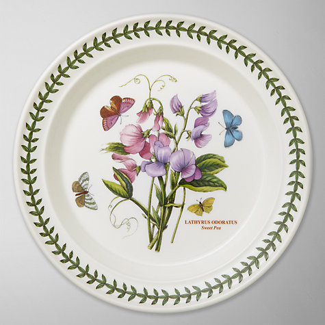 Buy Portmeirion Botanic Garden Plate, Sweet Pea, Dia.25cm Online at johnlewis.com