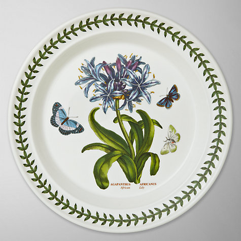 Buy Portmeirion Botanic Garden Plate, African Lily, Dia.25cm Online at johnlewis.com