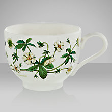 Buy Portmeirion Botanic Garden Traditional Teacup, 0.2L, Cinquefoil Online at johnlewis.com