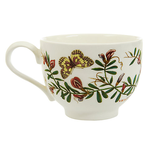 Buy Portmeirion Botanic Garden Traditional Tea Cup, 0.2L, Common Vetch Online at johnlewis.com