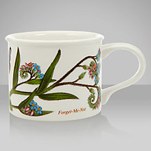 Buy Portmeirion Botanic Garden Drum Shape Teacup, 0.2L, Forget Me Not Online at johnlewis.com