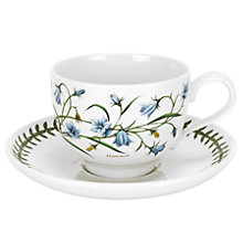 Buy Portmeirion Botanic Garden Traditional Tea Cup, 0.2L, Harebell Online at johnlewis.com