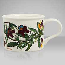 Buy Portmeirion Botanic Garden Drum Shape Teacup, Heartsease Online at johnlewis.com