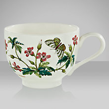 Buy Portmeirion Botanic Garden Traditional Teacup, 0.2L, Herb Robert Online at johnlewis.com