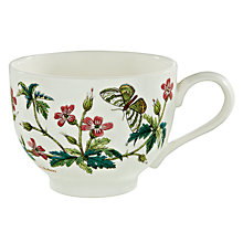 Buy Portmeirion Botanic Garden Traditional Tea Cup, 0.2L, Herb Robert Online at johnlewis.com