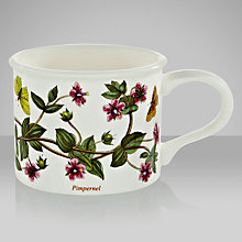 Buy Portmeirion Botanic Garden Drum Shape Teacup, 0.2L, Pimpernel Online at johnlewis.com