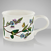 Buy Portmeirion Botanic Garden Drum Shape Teacup, Speedwell Online at johnlewis.com