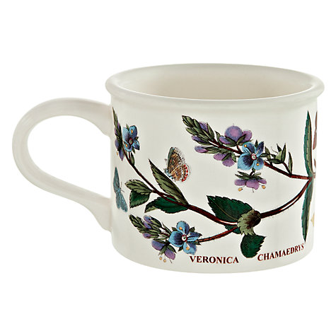 Buy Portmeirion Botanic Garden Drum Shape Teacup, 0.2L, Speedwell Online at johnlewis.com