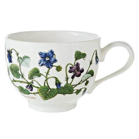 Buy Portmeirion Botanic Garden Traditional Teacup, 0.2L, Multi Online at johnlewis.com