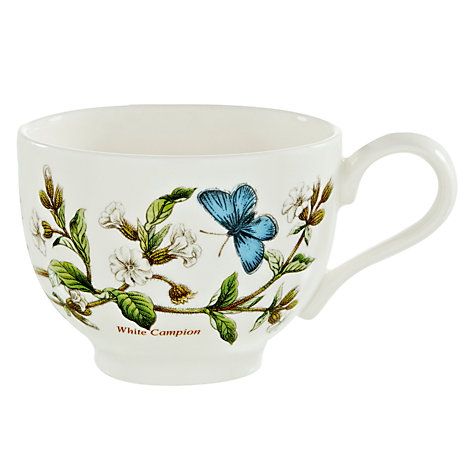 Buy Portmeirion Botanic Garden Traditional Teacup, 0.2L, White Campion Online at johnlewis.com