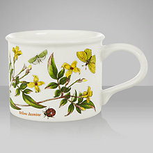 Buy Portmeirion Botanic Garden Drum Shape Teacup, Yellow Jasmine Online at johnlewis.com