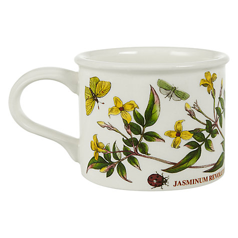 Buy Portmeirion Botanic Garden Drum Shape Teacup, 0.2L, Yellow Jasmine Online at johnlewis.com