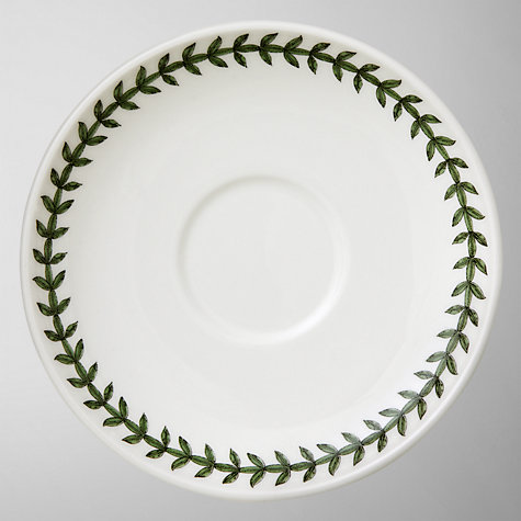 Buy Portmeirion Botanic Garden Traditional Shape Tea Saucer, Multi Online at johnlewis.com