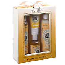 Buy Burt's Bees Bundle of Joy Gift Set Online at johnlewis.com