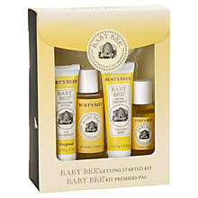 Buy Burt's Bees Baby Bee Getting Started Kit Online at johnlewis.com