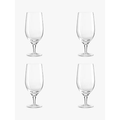 John Lewis Michelangelo Glassware, Beer Glass, Set of 4