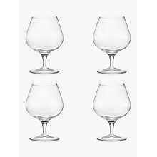 Buy John Lewis Michelangelo Glassware, Brandy Glass, Set of 4, Clear Online at johnlewis.com