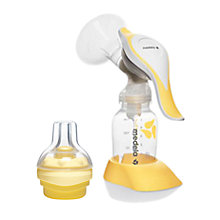 Buy Medela Harmony Manual Breast Pump with Calma Teat Online at johnlewis.com