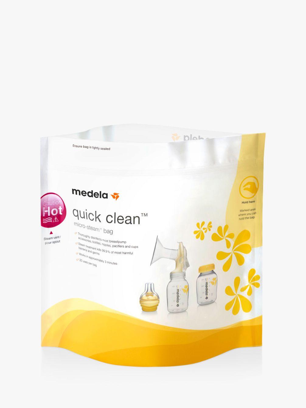 Medela Medela Quick, Clean Microwave Bags, Pack of 5