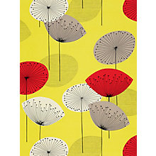 Buy Sanderson Dandelion Clocks Wallpaper, 210239, Yellow/Red Online at johnlewis.com