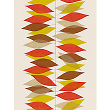 Buy Sanderson Miro Wallpaper, 210233, Red/Gold Online at johnlewis.com