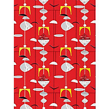 Buy Sanderson Mobiles Wallpaper, 210212, Pillar Box Online at johnlewis.com