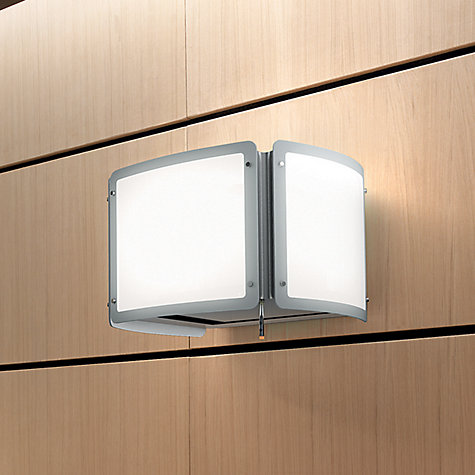 Buy Elica Light Cubo Hood, Stainless Steel/White Glass Online at johnlewis.com