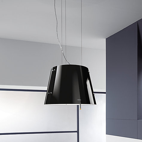 buy elica charm cooker hood black john lewis. Black Bedroom Furniture Sets. Home Design Ideas