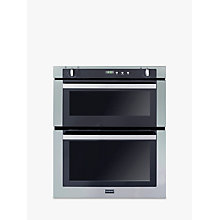 Buy Stoves SGB700PS Double Built-Under Gas Oven, Stainless Steel Online at johnlewis.com