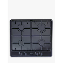 Buy Stoves SGH600C Gas Hob, Black Online at johnlewis.com
