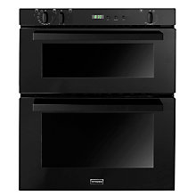 Buy Stoves SEB700FPS Double Built-Under Electric Oven, Black Online at johnlewis.com