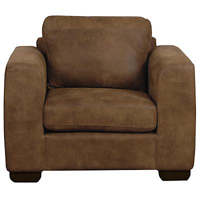 John Lewis Felix Leather Armchair With Dark Legs Ashanti Hide