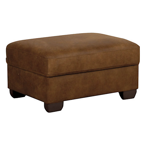 Buy John Lewis Felix Footstool with Dark Legs Online at johnlewis.com