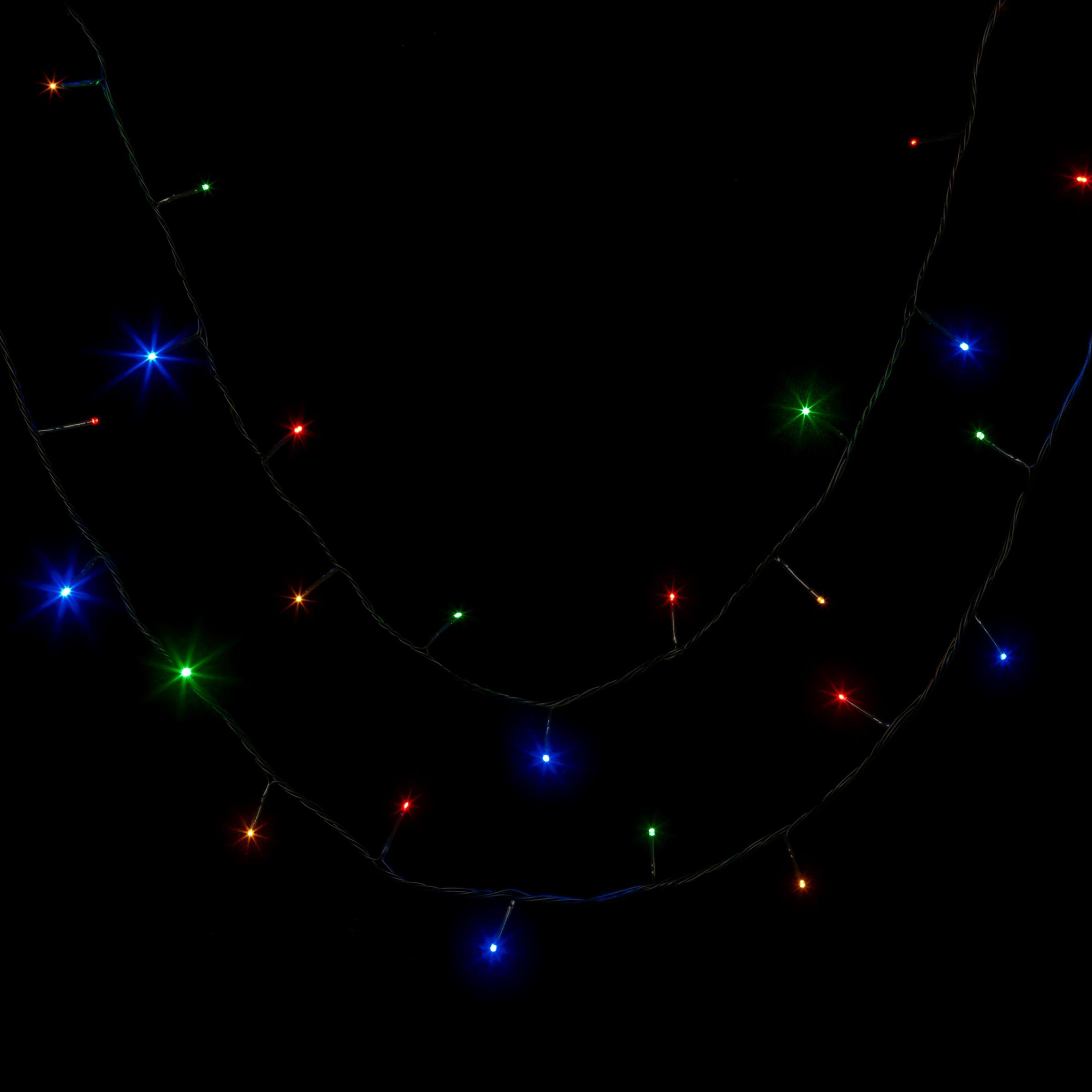 John Lewis Outdoor LED Line Lights, Multi, x160