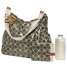 Buy Babymel Big Slouchy Changing Bag, Twisted Khaki Online at johnlewis.com