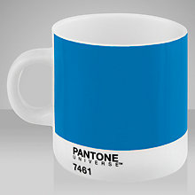Buy Pantone Espresso Cup, 7461 Blue Online at johnlewis.com