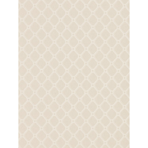 Buy Zoffany Trellis Wallpaper, Stone, Paw05007 Online at johnlewis.com