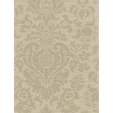 Buy Zoffany Tussah Damask Wallpaper, Bronze, Paw02001 Online at johnlewis.com