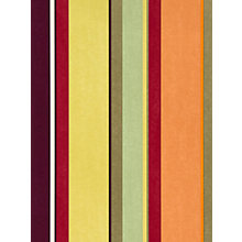 Buy Harlequin Bella Stripe Wallpaper, Dark Multi, 110049 Online at johnlewis.com